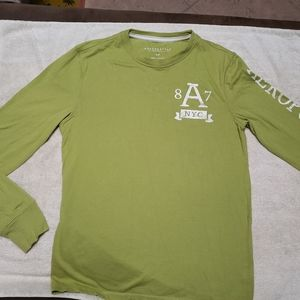 Aeropostale Long Sleeve Printed Tee